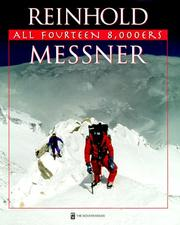 Cover of: All Fourteen 8,000ers | Reinhold Messner