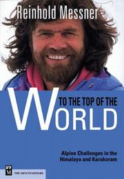 Cover of: To the Top of the World