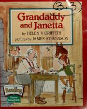 Cover of: Grandaddy and Janetta | Helen V. Griffith