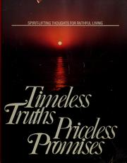Cover of: Timeless truths, priceless promises