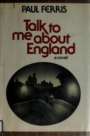 Cover of: Talk to me about England