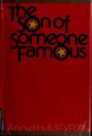 Cover of: The Son of Someone Famous