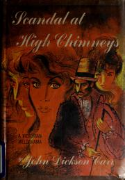 Scandal at High Chimneys by John Dickson Carr