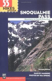 Cover of: 55 Hikes Around Snoqualmie Pass