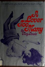 Cover of: A lover too many