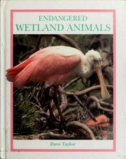 Cover of: Endangered wetland animals