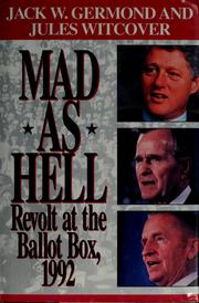 Cover of: Mad as hell