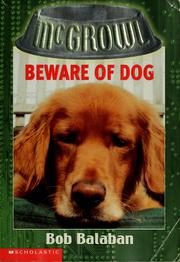Cover of: Beware of dog