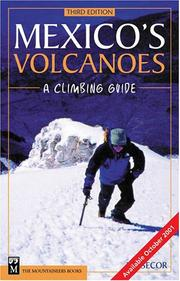 Cover of: Mexico's volcanoes
