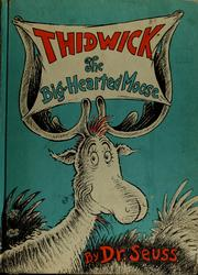 Cover of: Thidwick | written and illus. by Dr. Seuss