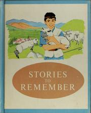 Cover of: Stories to remember | Harold Gray Shane