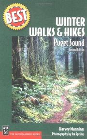 Cover of: Best winter walks and hikes