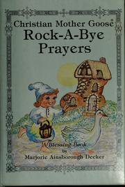Cover of: Rock-a-bye prayers