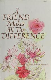 Cover of: A friend makes all the difference