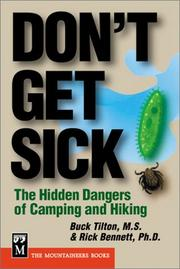 Cover of: Don't Get Sick: The Hidden Dangers of Camping and Hiking (Don't)