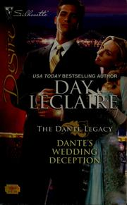 Cover of: Dante's wedding deception | Day Leclaire
