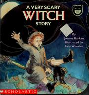 Cover of: A very scary witch story