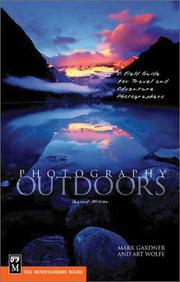 Cover of: Photography Outdoors: A Field Guide for Travel and Adventure Photographers
