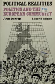 Cover of: Politics and the European Community | Anne Daltrop