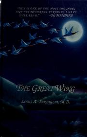 Cover of: The Great wing | Louis A. Tartaglia