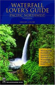 Cover of: Waterfall lover's guide, Pacific Northwest
