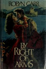 Cover of: By right of arms