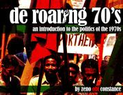 Cover of: De roaring 70's
