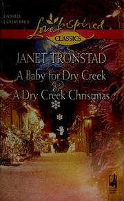 Cover of: A baby for Dry Creek | Janet Tronstad