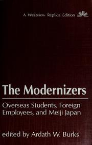 Cover of: The Modernizers |