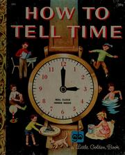 Cover of: How to tell time