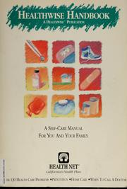 Cover of: Healthwise handbook