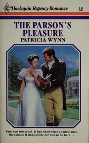 The parson's pleasure
