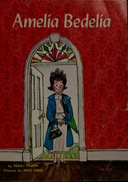 Cover of: Amelia Bedelia | Peggy Parish