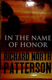 Cover of: Honor: a novel