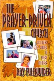 Cover of: The prayer-driven church