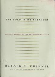 Cover of: The Lord is my shepherd