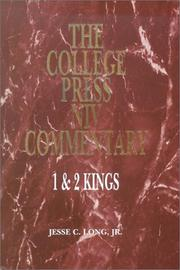 Cover of: 1 & 2 Kings (College Press Niv Commentary. Old Testament Series) | Jesse C. Long