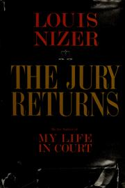 Cover of: The jury returns | Louis Nizer