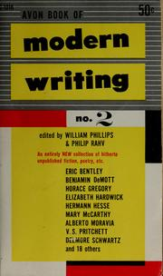 Cover of: Avon book of modern writing