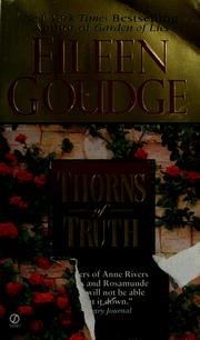 Cover of: Thorns of truth | Eileen Goudge