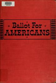 Cover of: Ballot for Americans | Lamont Buchanan