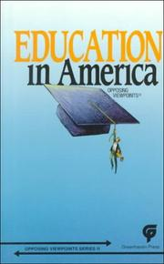 Cover of: Education in America | Charles P. Cozic