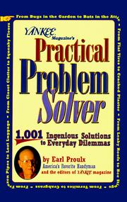Cover of: Yankee magazine's practical problem solver | Earl Proulx