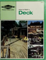 Cover of: How to build a deck | Koppers Company