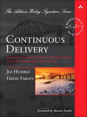 Cover of: Continuous Delivery |