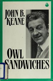 Cover of: Owl sandwiches | Keane, John B.