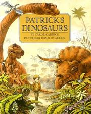 Cover of: Patrick's Dinosaurs