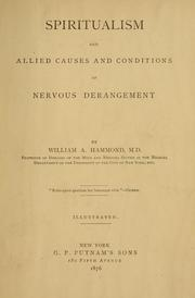 Cover of: Spiritualism and allied causes and conditions of nervous derangement