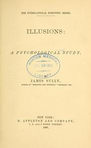 Cover of: Illusions: a psychological study