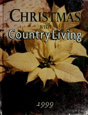 Cover of: Christmas With Country Living 1999 |
